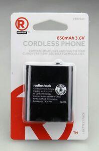 RadioShack 3.6Volt/850mAh NiCd Rechargeable Phone Battery--2302543