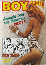 BOY MUSIC 12 1979 Amanda Lear David Bowie Asha Puthli Rock Exhibition Pupo