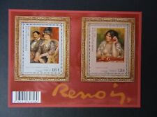 Feuillet timbres France Neuf XX N° F4406 Renoir