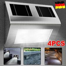 DKB LED Solar Wandlampe Wandleuchte Wegeleuchte Lampe Leuchte Außenbeleuchtung