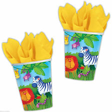 Birthday, Child Animals Party Tableware Cups