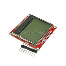 84*48 LCD Module White Backlight Adapter PCB for Nokia 5110 Arduino CA