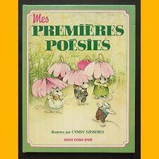 Contes-Histoires MES PREMIÈRES POÉSIES poèmes comptines C. Szekeres 1982