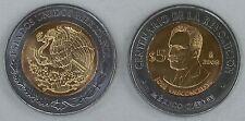 "Mexiko / Mexico 5 Pesos 2008 ""Revolution: José Vasconcelos"" unz."