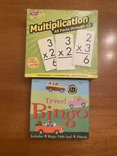 Multiplication Flash Cards and Travel Bingo Set