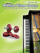 ALFRED'S PREMIER PIANO COURSE TECHNIQUE LEVEL 2B MUSIC BOOK BRAND NEW ON SALE!!