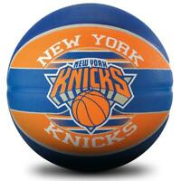 NBA Team Series - New York Knicks Size 7 Outdoor Basketball From Spalding
