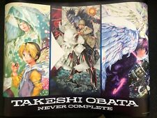 [Free Shipping] Official Obata Takeshi 2019 Never Complete Exhibition Poster
