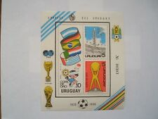 ''World Champions' Gold Cup'': 1930-1980 Uruguay Football Stamp