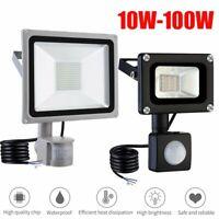 PIR Motion Sensor LED Flood Light Waterproof Outdoor Spotlight Security Lamp New
