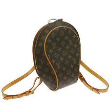 Authentic LOUIS VUITTON Ellipse Sac A Dos Backpack Monogram M51125 GOOD JT06053j