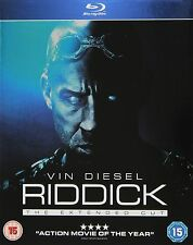 RIDDICK - EXTENDED CUT - BLU RAY - NEW / SEALED - UK STOCK