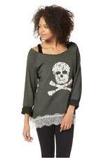 Sweatshirt mit Spitze von AJC girls in Gr.36/38 oder 40/42 NEU
