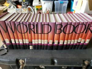 World Book Encyclopedia 2001 Set With Election Supplement