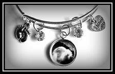 Baby Sonogram Custom Photo Expandable Charmed Bracelet Baby Shower Gift New Mom