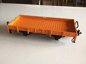 LGB 4010 Niederbordwagen Güterwagen orange Spur G Gartenbahn BD46 Nr.2