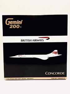 Gemini Jets 1:200 British Airways Concorde G-BOAB G2BAW915