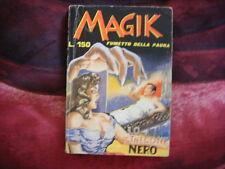 "MAGIK n.1 ""LO STREGONE NERO"" - Edizioni MERONI, 1965"