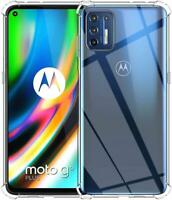 For Motorola Moto G9 Plus Clear Case Slim Armour Shockproof Gel Phone Case Cover