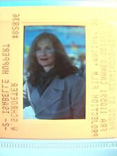 Isabelle Huppert and Claude Chabrol color slides, lot of (5)