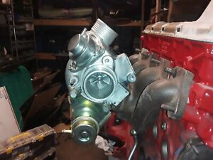 Volvo 19T Turbo - Modified For 240 740 940 Redblock Engines - Straight Flange