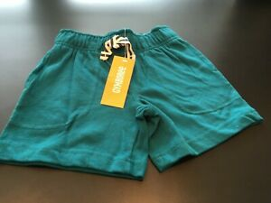 NEW Gymboree Boys 4T Teal Knit Green Shorts Drawstring Waist