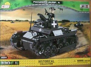 Cobi - Small Army - Sd.Kfz.101 Panzer I Ausf A 360 Piece Block Set COB02534