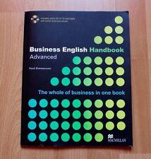 Business English Handbook Advanced mit CD Paul Emmerson ISBN 13: 9783190625765