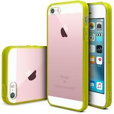 Custodia Cover per iPhone SE/5 / 5S Scena Cristallo TPU - PC Giallo