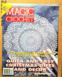 CROCHET MAGIC DEC 1996