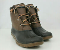 Sperry Top Sider Womens Boots Syren Gulf Duck STS80524 Leather Brown Sz 10