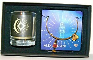 ALEX AND ANI Holiday NUTCRACKER Bracelet and Candle Gift Box Set - Brand New