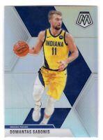 2019 Panini Mosaic Basketball Domantas Sabonis SP Silver Prizm #155 Pacers