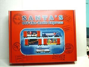 MICRO-TRAINS N SCALE SANT'A OFF-THE RAILS EXPRESS TRAIN SET 99321340