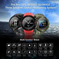 Waterproof Bluetooth 4.2 GPS Sports Smart Watch Heart Rate Monitor&Step Counter