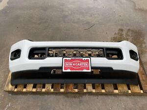 2019 2020 RAM 2500 3500 Painted Factory OEM Front Bumper Bright White