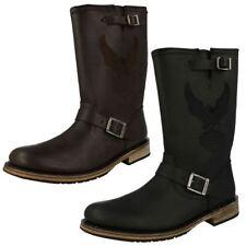 Harley-Davidson Women's Zip Leather Upper Material Boots for Men