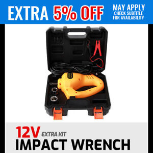 12V Impact Wrench/ Electric Scissor Jack Lift/ 12-35/42cm 2T Auto Remote Hoist