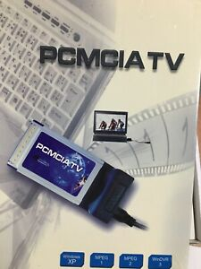 pcmcia TV card adapter