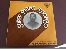 Super Mama Djombo - A Memoria De N'Famara Mane Vinyl Record LP (RARE!)