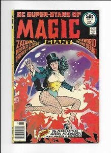 DC SUPER-STARS #11 CLASSIC ZATANNA COVER FN/VF