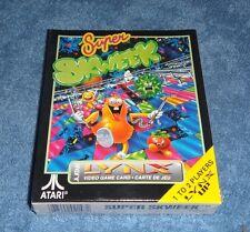 Super Skweek Atari LYNX BRAND NEW! SEALED! CIB Complete superskweek CombinedShip