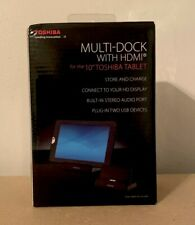 """Toshiba Multi Dock with HDMI for Toshiba 10"""" Tablet (Unopened New)"""