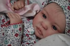 Reborn CUSTOM MADE SHYANN ooak fake baby lifelike vinyl art ARTIST doll PETERSON