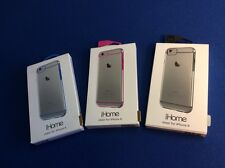 Cell phone hard shell protective case cover for iPhone 6, sheer silver, New