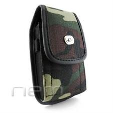 Camouflage Vertical Heavy Duty Rugged Case Pouch For Sonim XP1520 BOLT SL