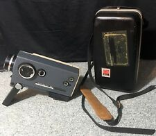 KODAK Instamatic M6 Super 8 Eight Movie Camera w/ Hard Case VINTAGE