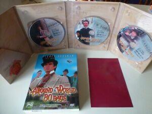 AROUND THE WORLD IN 80 DAYS dvd set REGION 4 pierce brosnan RARE eric idle 1989