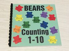 Bears Counting 1-10 Book