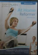 NEW At Home Reformer Workout DVD Stott Pilates fitness exercise series